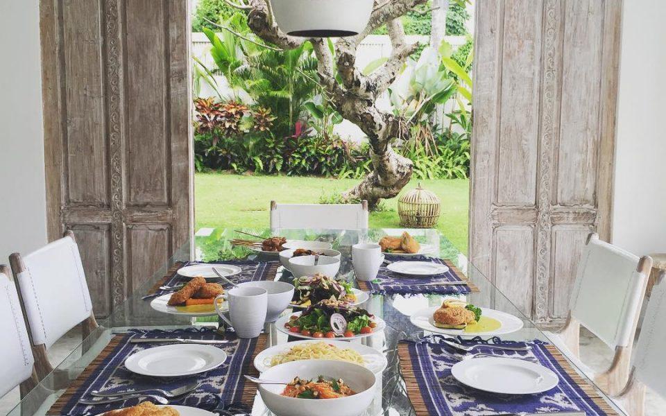 Private Dining at Villa Santai