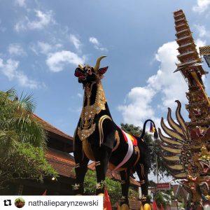 Ngaben Bull from Ubud Royal Cremation