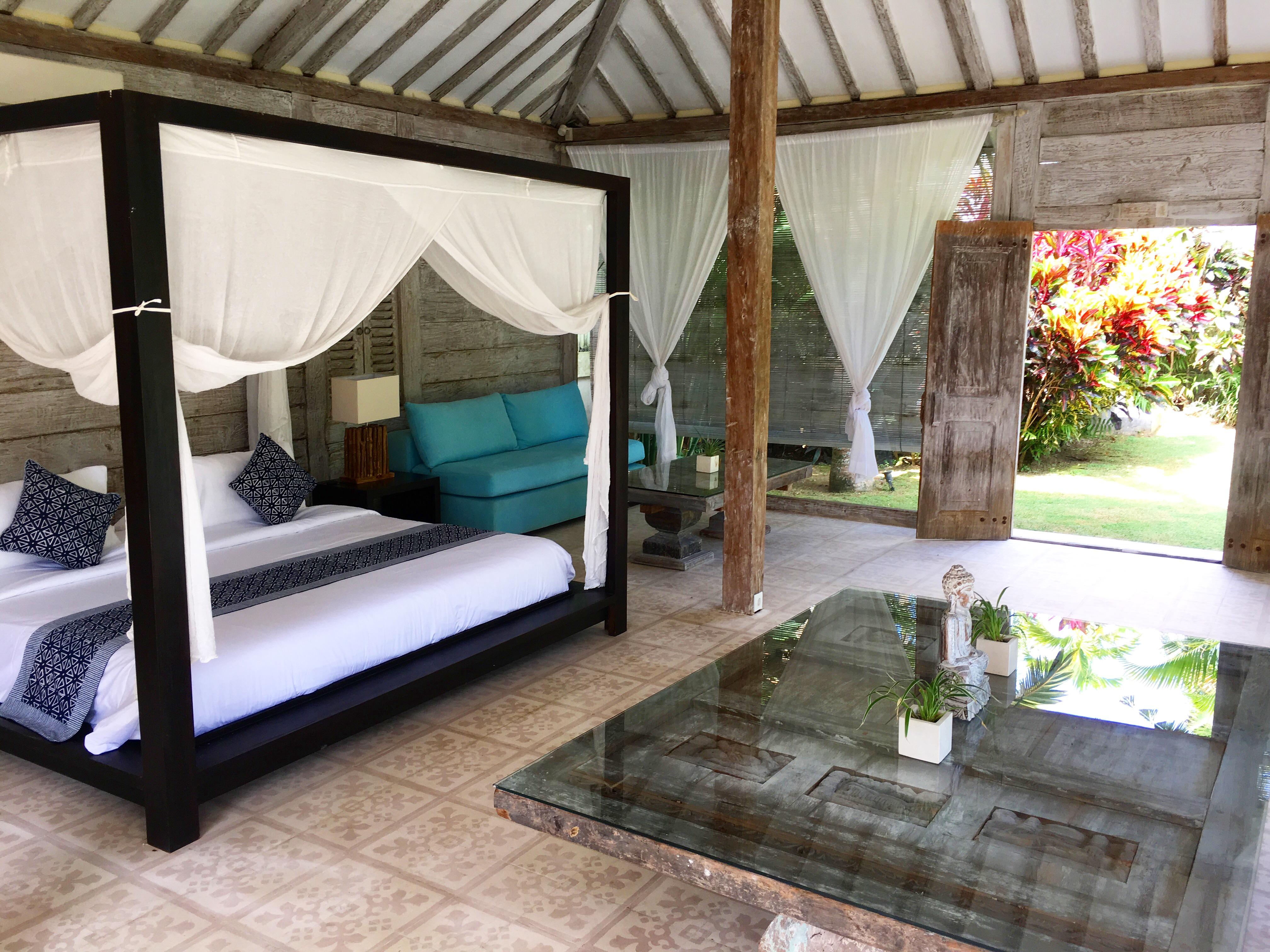 Villa Santai Joglo Bedroom