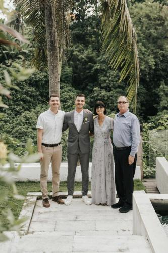 Intimate wedding of Jeanie & Robby in Bali