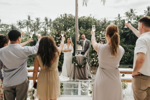 Intimate wedding of Jeanie&Robby in Bali
